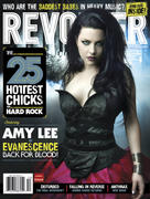 Amy Lee of Evanescence in Revolver Magazine's Hottest Chicks in Rock 2012 Issue x 2