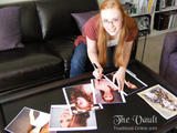 Deborah Ann Woll - Signing Photos for Charity (x1)