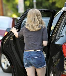 Seyfried - out and about *thong* candids in Los Angeles, July 4, 2011