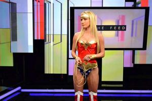 Сара Жан Андервуд, фото 582. Sara Jean Underwood as Wonder Woman Attack of the Show - 17/02/11*LQ, foto 582,