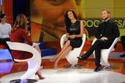 Меган Гэйл, фото 252. Megan Gale on Italian tv show 'Verissimo' - 04/11/11, foto 252